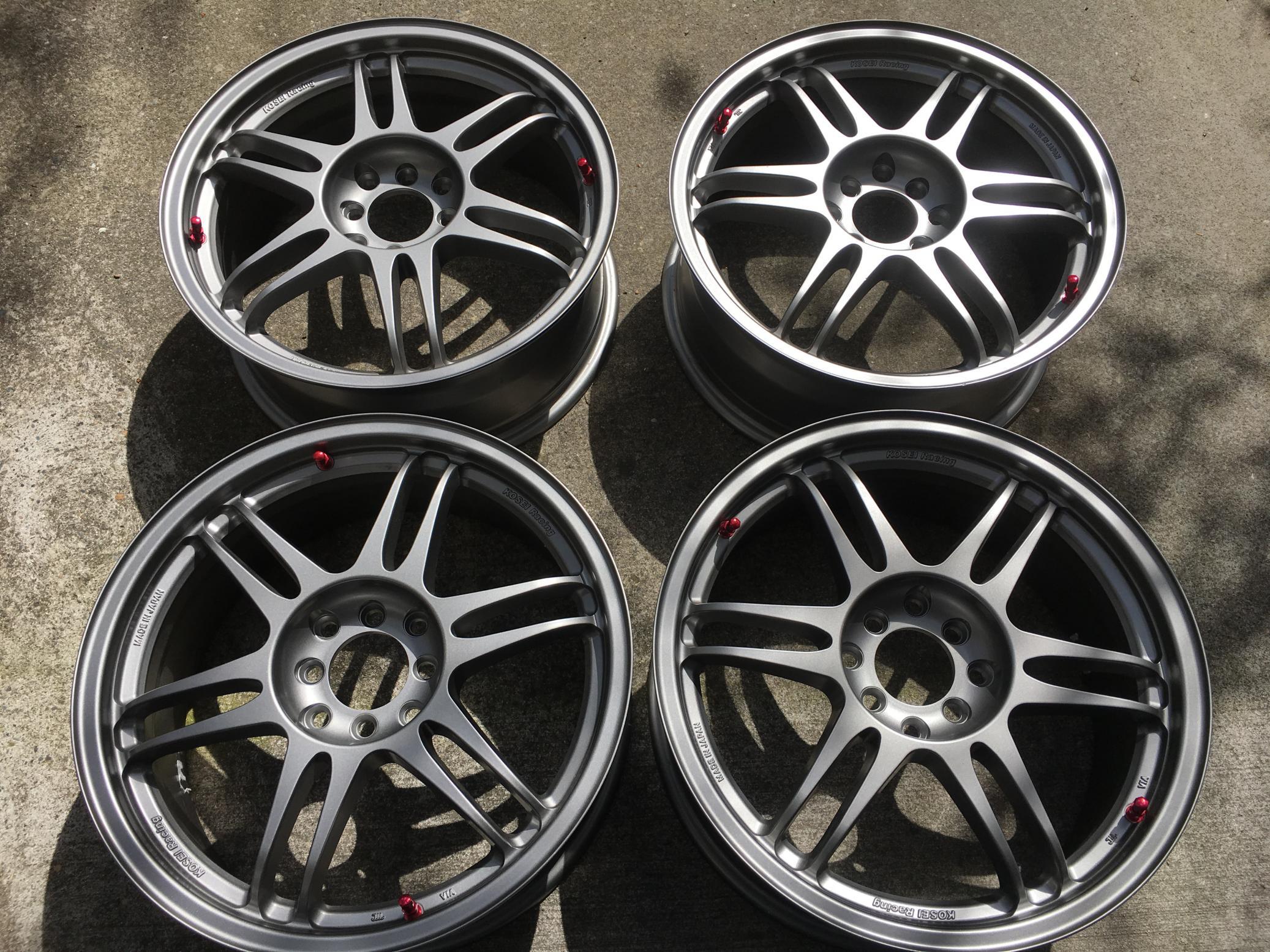 [For Sale] New 17x7 Kosei K1-TS Racing Wheels - 4x100 ...